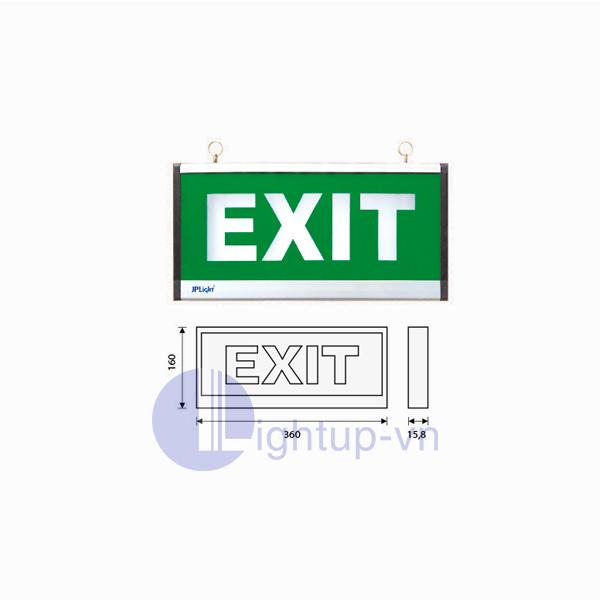 Đèn Exit JP Light NEXM01