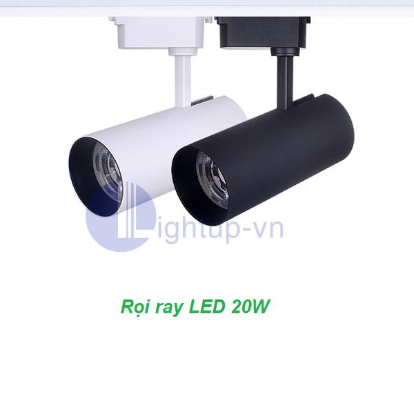Đèn rọi ray cổ dài 20W LED