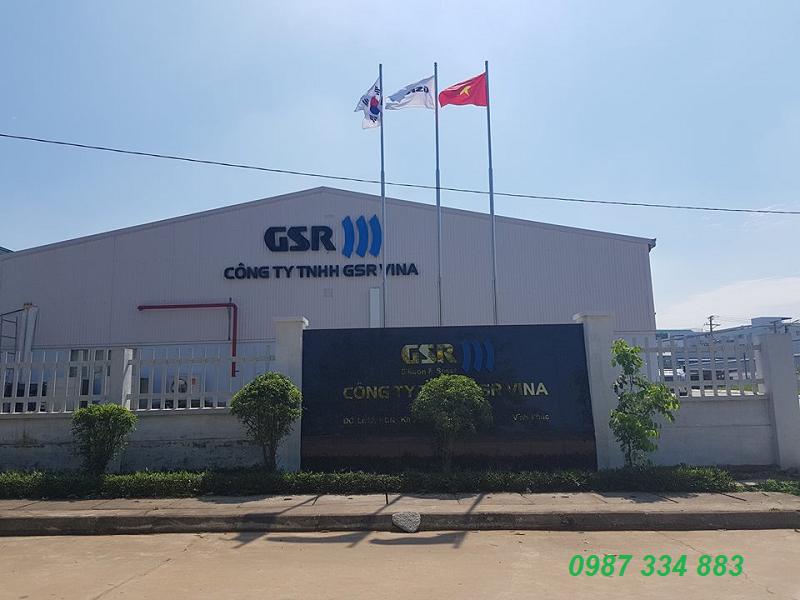 Nhà máy GSR Vina