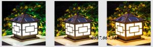 đèn led trụ sân vườn